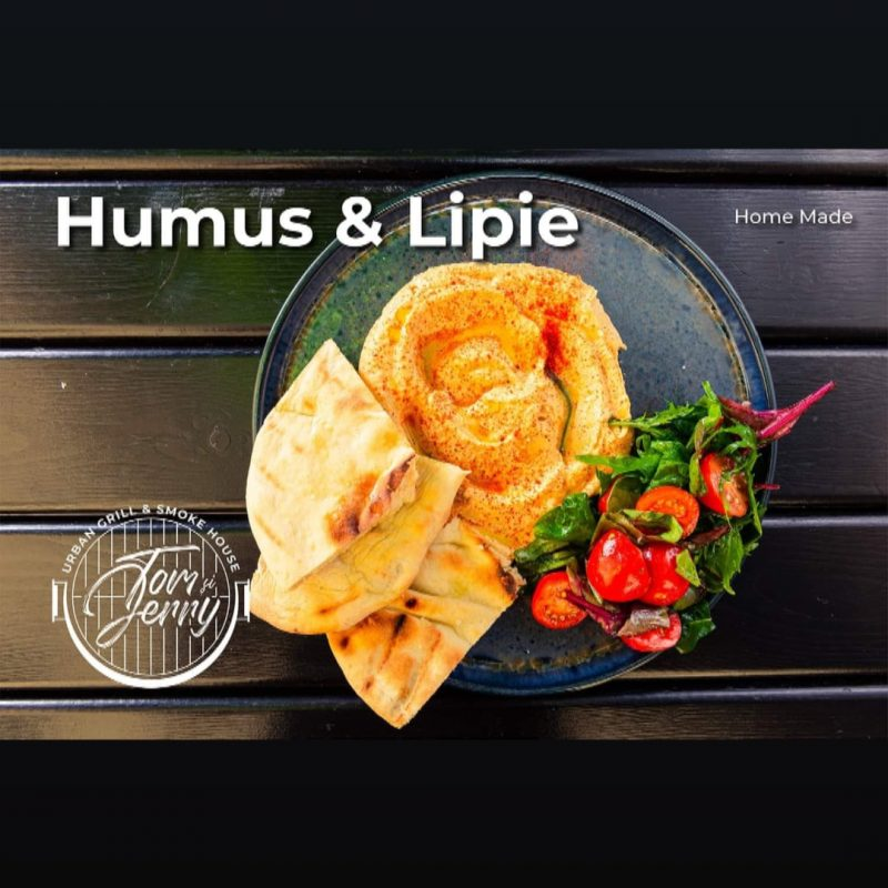 Hummus cu lipie
